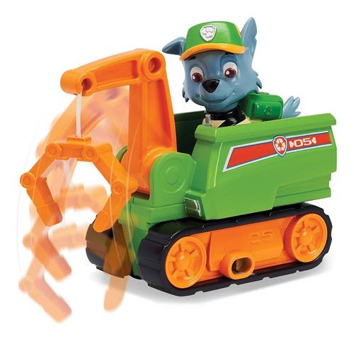 paw patrol vehiculo con figura auto juguetes coleccionables