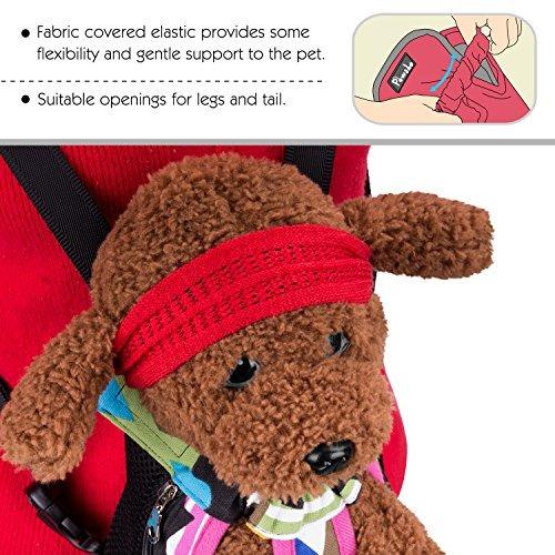 Pawaboo Pet Carrier Backpack Adjustable Pet Front Cat K229