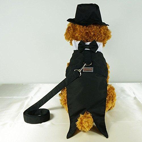 pawow 3en1 perro novio smoking traje del perrito del traje