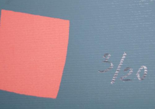 pax cosmic serigrafia assinada