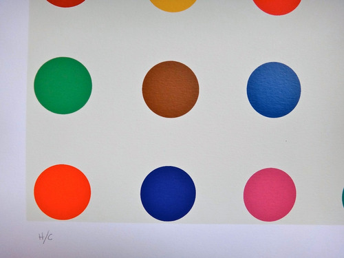 pax - homenagem à damien hirst - spots - linda serigrafia