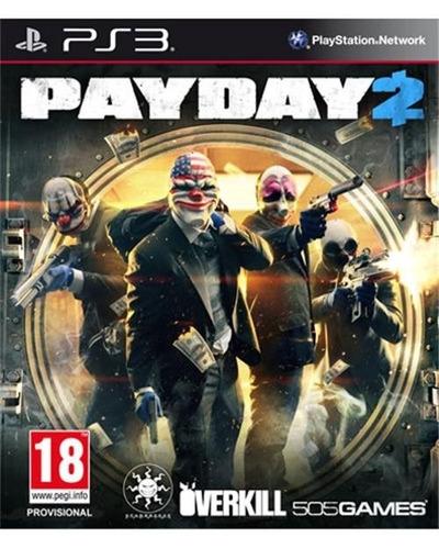 pay day 2 digital entrega en el dia ps3