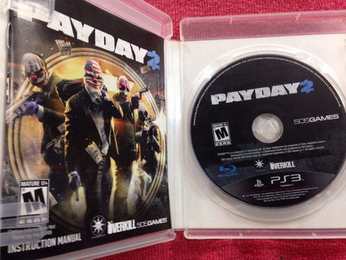 pay day 2 payday ps3 play 3 vendo o cambio