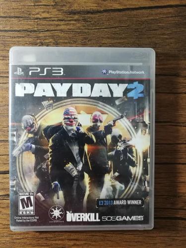 pay day 2 playstation 3 ps3 excelente estado !!
