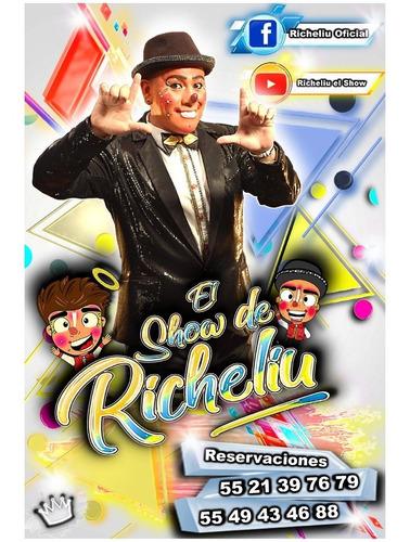 payaso richeliu ( familiar 100% infantil).