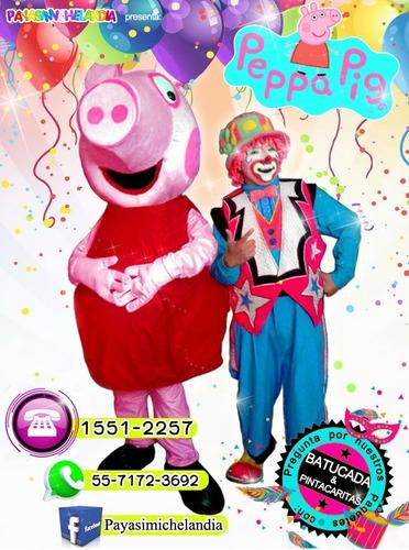 payasos con personajes para tu fiesta - cdmx y edomex
