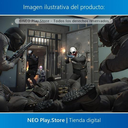 Payday 2 Crimewave Edition Juego Ps4 Fps Cooperativo Nuevo 349