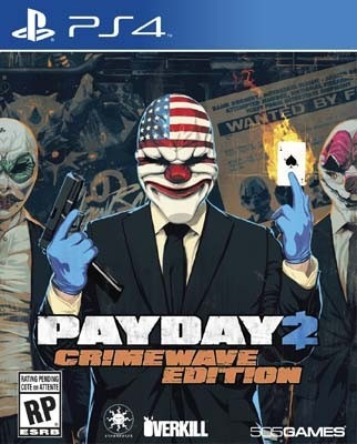 payday 2 crimewave edition ps4 fisco nuevo xstation