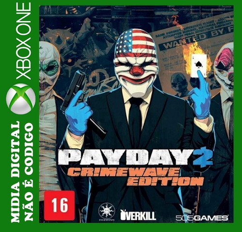 payday 2: crimewave edition xbox one digital roraima games