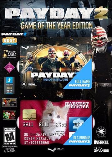payday 2 goty edition original para pc~ steam