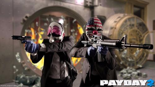 payday 2 para pc - steam original - entrega en el dia