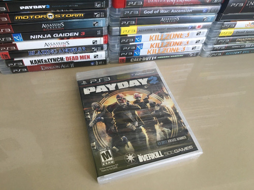 payday 2  - playstation 3  - lacrado - original novo