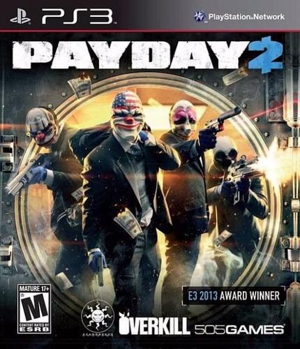 payday 2 ps3 español lgames