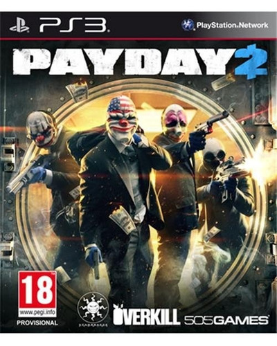 payday 2 ps3 pay day 2