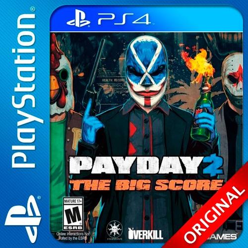 payday 2 the big score ps4 digital crimewave edition oferta