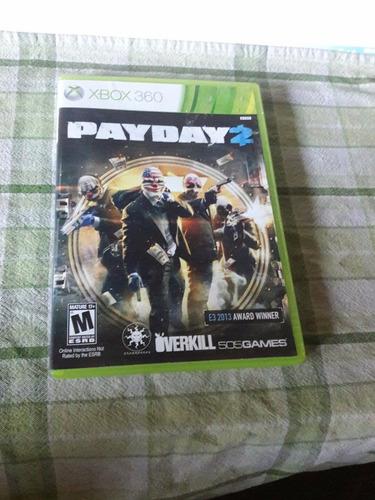 payday 2 xbox 360 + envio gratis