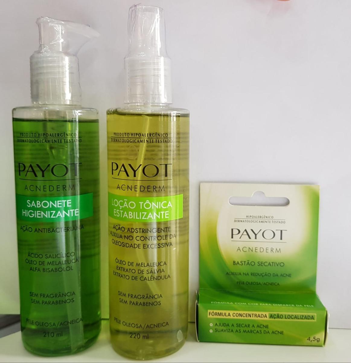 2422b185fc4 Payot Kit Pele Oleosa acneica C  Bastão
