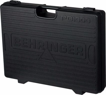pb1000 behringer pedalera estuche de 12 pedales nuevo cables