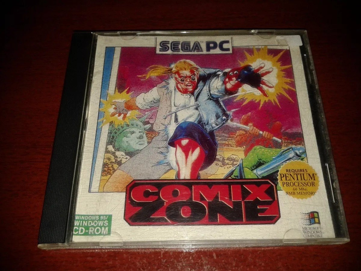 Pbe Juego Pc Comix Zone Windows 95 Unico Excelente Estado 750