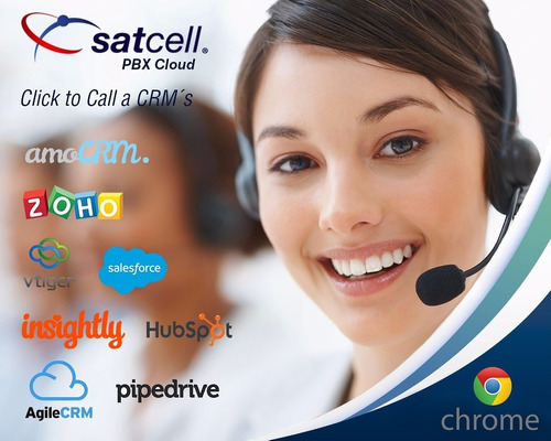 pbx cloud & click to call crm zoho vtiger amocrm hotspot