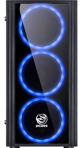 pc 8ª geração core i3-8100 h310m-h 8gb ddr4 ssd 120gb 400w