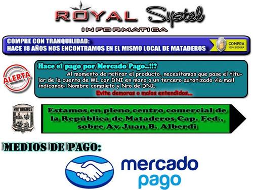 pc actualización gamer amd a6 9500 ssd 240g 8gb gab royal