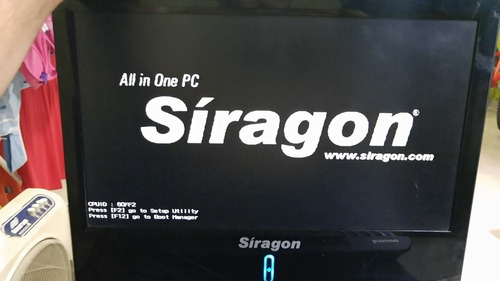 pc all in one siragon x1800 repuesto o reparar