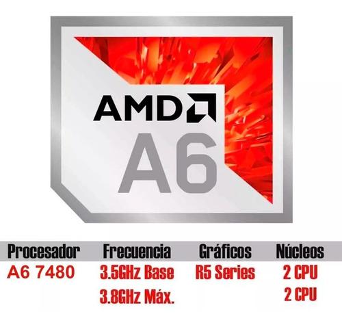 pc armada amd a6 7480 3,9 mhz 4g ssd 120 w10
