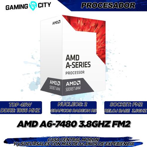 pc armada amd a6-7480 dual core 8 gb ram