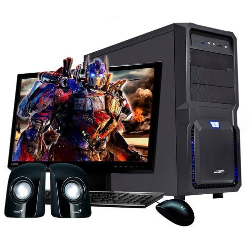 pc armada amd athlon 5150 x4 | 2gb 500gb usb3 sata3 | hogar