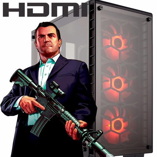 pc armada amd gamer a4 4000 fm2 hdmi ddr3 4gb 1tb
