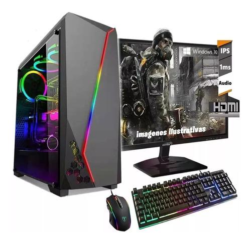 pc armada gamer amd 9700 x10 nucleos video r7 ddr4 ssd 240gb