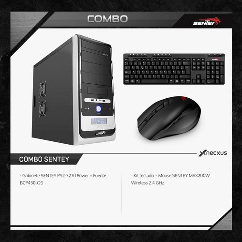 pc armada gamer amd a4 6300 120 gb ssd kit inalambrico hdmi