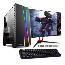 Pc Armada Gamer Amd A8 6/nucleos 500gb 4gb Win10 + Monitor