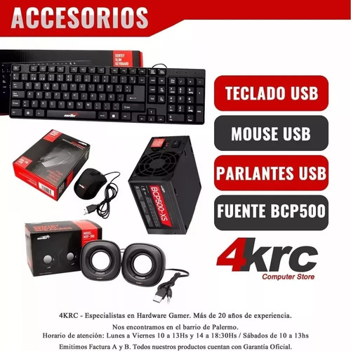 pc armada gamer amd a8 9600 x10 nucleos video r7 hdmi w10 64