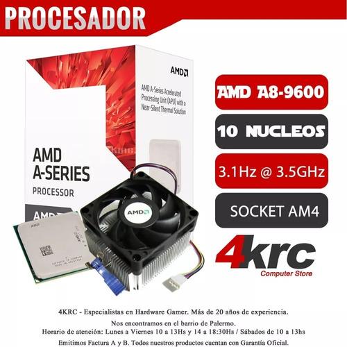 pc armada gamer amd a8 9600 x10 video r7 8gb ram ddr4 hdmi