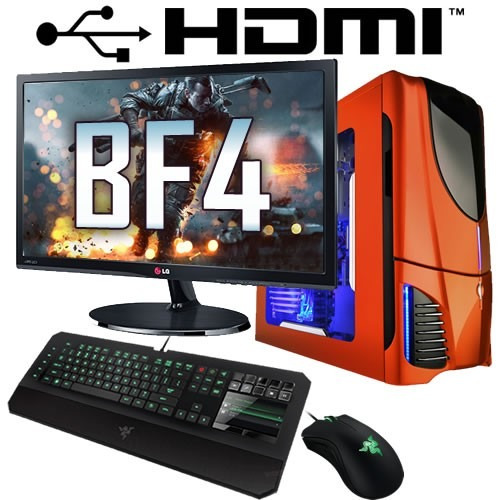 pc armada gamer amd a8 video ati r7 4gb 1tb full hdmi