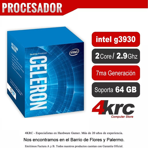 pc armada gamer intel 7ma g3930 geforce gt 1030 envío gtis
