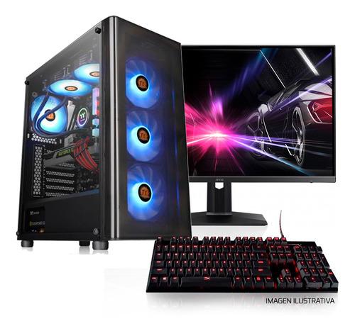 pc armada gamer ryzen 5 2600 8gb ssd a320 rx580 cuotas