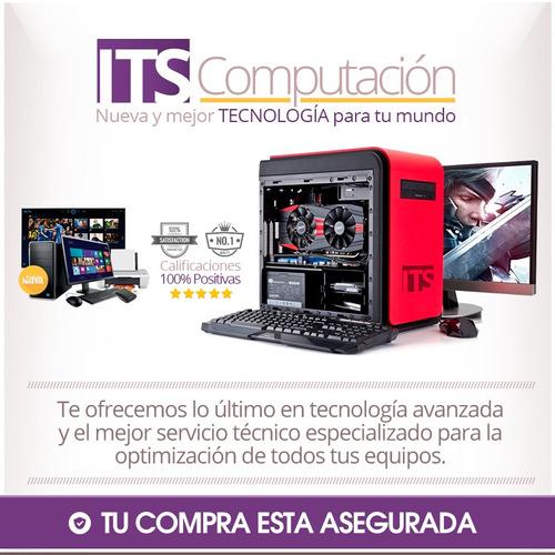 pc armada intel core i7 1 tb ssd 120 16gb  ram nueva