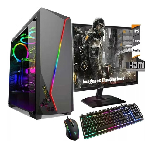 pc armada intel i7 9700 9na ssd 480 16gb gtx1660 led 22 wifi