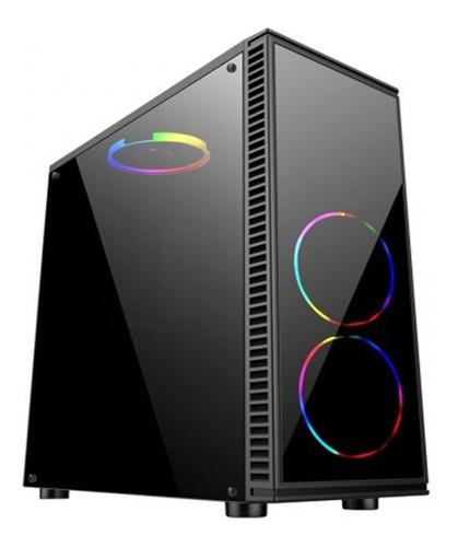 pc athlon 200ge cpu gamer amd  8gb ssd 240gb vga vega 2gb c/led
