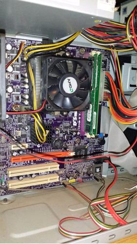 pc athlon 64 3000+ am2 mini atx oficina
