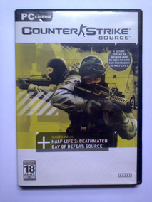 Pc Cdrom Counter Strike Source + Half-life 2 + Day Of Defeat