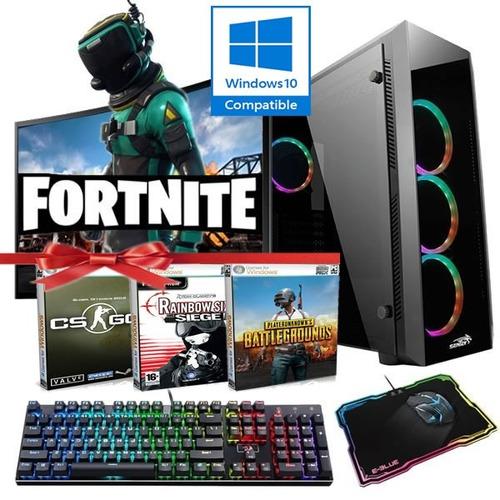 pc completa intel i5 7ma / 8gb ddr4 / hd 1tb / gtx1050 gamer