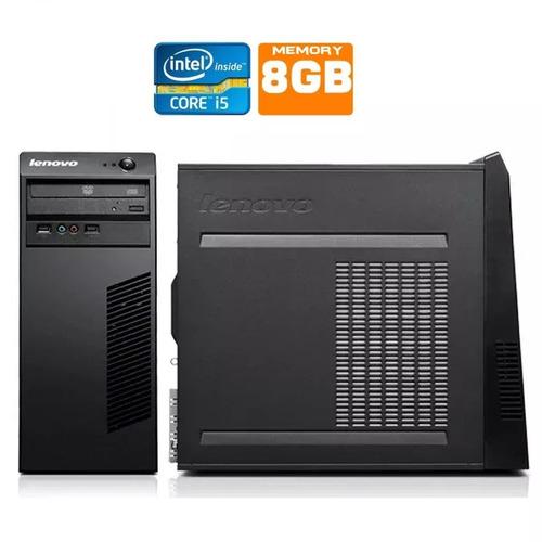 pc completo cpu lenovo i5 8gb hd 320gb wifi office