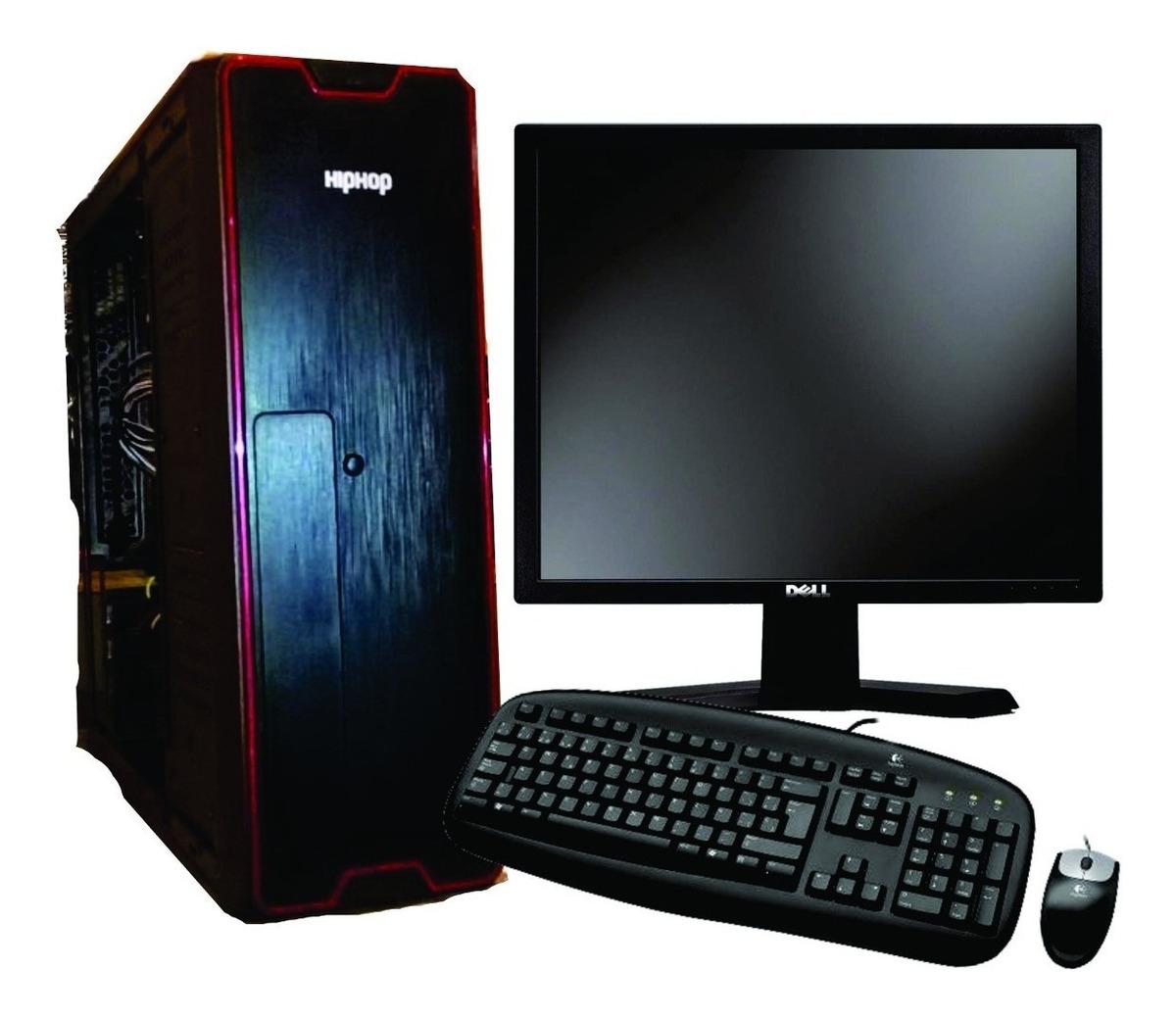 Pc Computadora Completa 2gb Monitor Led 19 Oferta Buen Fin