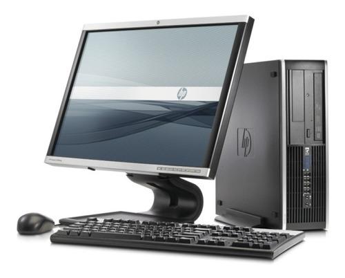 pc computadora completa windows 7 wifi monitor lcd y regalos