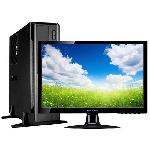 pc computadora core i5 +monitor led 22' +teclado y mouse loi