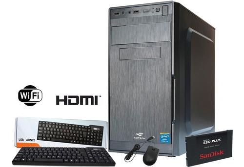 pc cpu asus + i7 4770 4ª geração 3.4ghz, 16gb ram, ssd 960gb